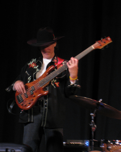 At the Deer Trees Theater in harrison, Maine with the Jon Sarty band 2011