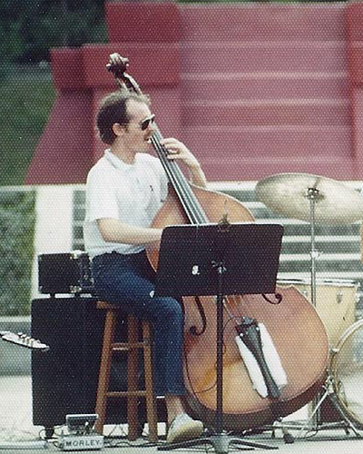 Outdoor concert with the Jazz Project at University of Florida 1976