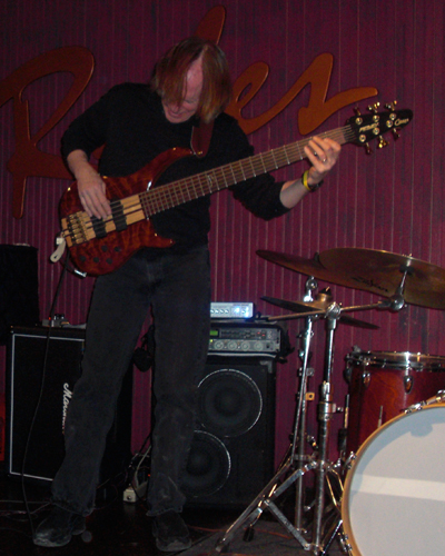 At Ryles Jazz Club in Boston with Liquid Flight Band 2011